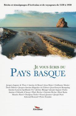 couverture livre Je vous écris du Pays Basque