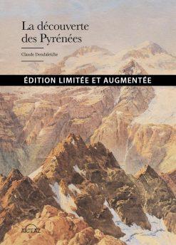 Couverture édition limité livre la Découverte des Pyrénées