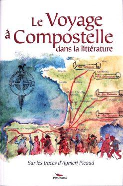 Couverture livre le voyage à Compostelle dans la littérature