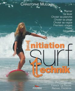 Couverture du livre d'initiation surf Surf Technik par Christophe Mulquin