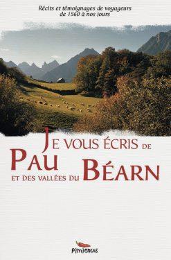 Couverture du livre Je vous écris de Pau et du Béarn