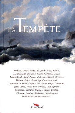 couverture du livre la Tempête- la tempête dans la littérature