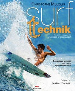 Couverture du livre de technique surf Surf Technik par Christophe Mulquin