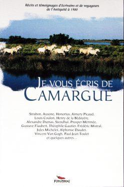 Couverture livre Je vous écris de Camargues