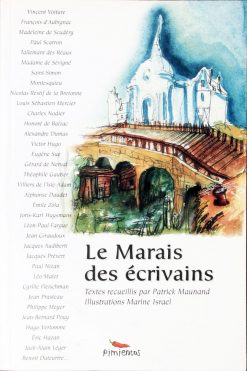 Couverture du livre le Marais des écrivains - Patrick Maunaud
