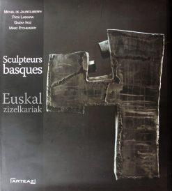 Couverture du livre les sculpteurs basque aux Editions Arteaz