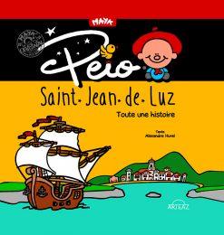 couverture Peio Saint Jean de Luz toute une histoire